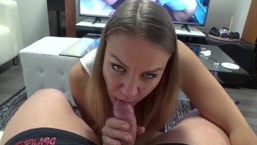 Daddy's little whore really knows how to suck a cock (POV version)