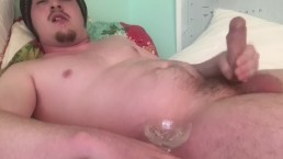 Solo Male Has Camgirl Impressed by Cumming! This is the 4th Load in a Row!