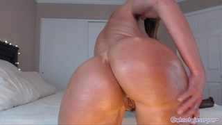 Milf Camgirl Jess Ryan Sexy Private Show Tease With Anal