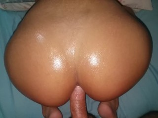 Anal latina and white dick...