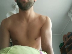 Spanish handsome with muscles fucking ass with POV view