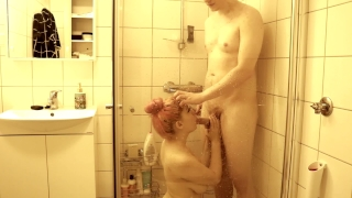 A to shower dirty was had take too i cock thick