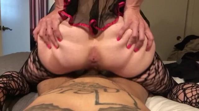 milf gets ass covered in cum 4