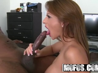 MOFOS - Alison Star gets pounded by some bbc