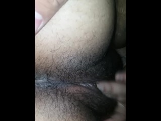 Wet pussy getting fucked from behind