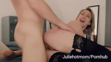 dad cuckold, stepmom fucked next to her sleeping husband