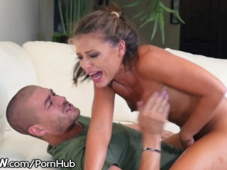 Bskow adriana chechik rough to pussy...