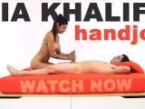 MIA KHALIFA - Arab Goddess Performs Expert Level Handjob On Peter Green