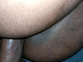 Ass cums all over my then i her...