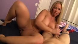 MilfPornCity-Step Mom gives Son Handjob