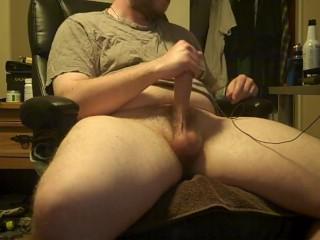 I Loe Stroking My Fat Cock