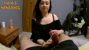 by the balls and cumming
