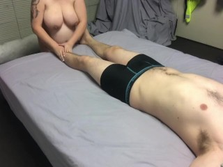GF Massage Gets Steamy MASSAGE2018 - (full 31min video available for fans!)