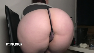 Juicy interracial creampie & pussy massage • JayJadeMoon • Full Length