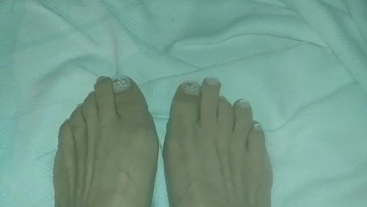 Pretty New Nails On My Toes!!