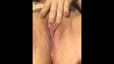 Oil massage and creamy pussy