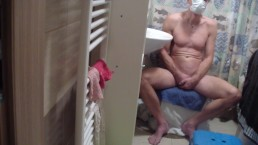 young russian doctor´s examination of a man with a sexual problem