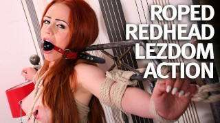 Natural Redhead First Time Bound and Fucked