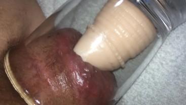 ass pump with dildo