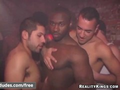 Reality Dudes - Testicle Seduction - Hot interacial after party