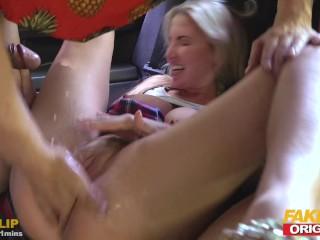 Orgasms Fake Taxi vid: FAKEhub Originals Fake Taxi to Fake Hostel with big tits & squrting orgasms