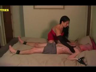 Tickle Gloved xxx: Satin Gloved Tickle and GOM