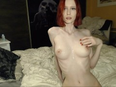 Amateur wife sharing threesome, creampie and cum on tits