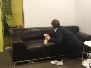I Disinfect the Casting Couch