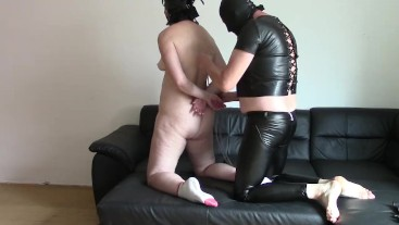Anal sex with my leather Master