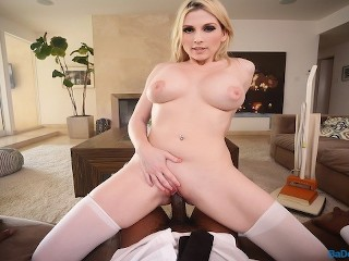 BaDoink VR Busty Housewife Christie Stevens Can't Refuse Your BBC