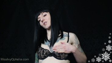 Winter JOI CEI 2 - Femdom Cum Eating Instruction