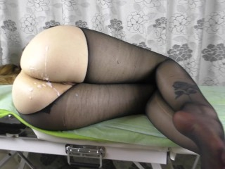 Get fuck her pussy pantyhose...