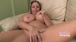 Big Tit Hairy Pussy MILF Masturbates And Cums Hard