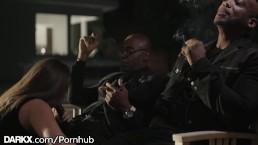 DarkX Fun Nite! Wife In Black Dick DP w/ Husband & His Best Boy