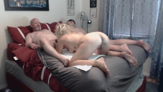 Bisexual Group Sex Neighbors Enjoy Swapping