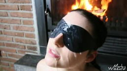 Cumslut's face covered with massive cumshot - huge facial - cumtraining 4