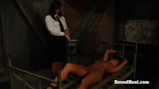 No Escape 2: Lesbian Maid Enjoys In Slave Training