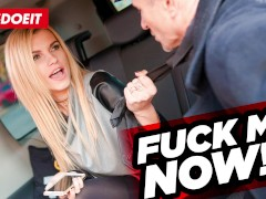 Czech Taxi Driver cums several times in Hot Russian Pussy
