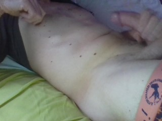 Guy moaning and cumming porn...