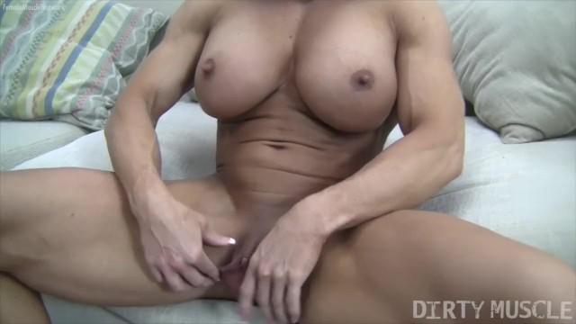 Huge clit muscles Angela salvagno huge labia big clit huge dildo