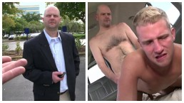 BAIT BUS - Middle Aged Salaryman Thomas Hoffman Cheats On His Girlfriend