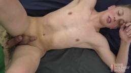 Straight Blond Athletic Teen Trained To Be Older Man's Bareback Bitch POV