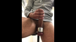 FUCK - Unexpected CUMSHOT - Ball TORTURE at the Gym ** PART 2 **