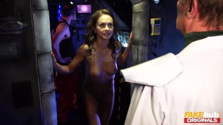 FAKEhub Originals Sex Robot comes alive to fuck space taxi driver