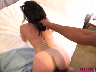 Petite Teen Kiarra Gets Tight Pink Pussy Stretched by BBC