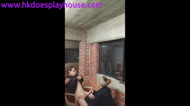 Lost pussy bet - She lost another bet and had to give another stranger a blowjob