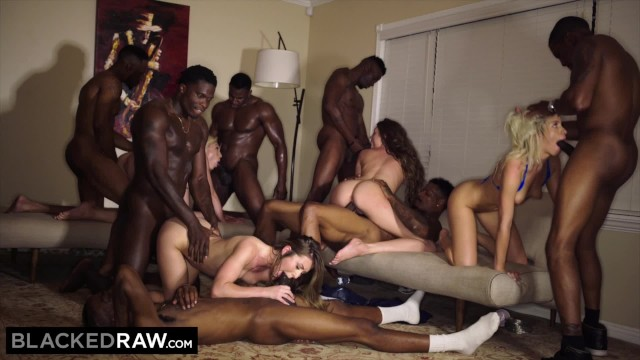 Interacial anal tubes Blackedraw four college girls in insane bbc gangbang
