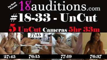 #18-33-UC 5 UnCut Cameras (5 Hrs 33min Total) from Clip #18-33