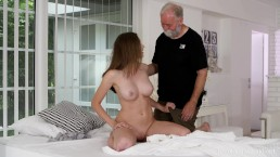 Old-n-Young.com - Stacy Cruz - Cutie enjoys a solo pussy massage