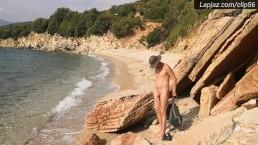 Beach Naked Hiking Solo Male Masturbation - Lapjaz.com Ecosexual Ecoporn
